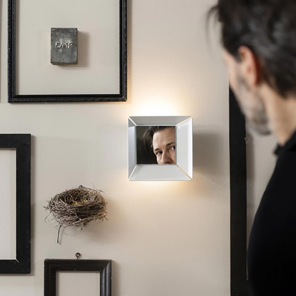 Karman Narcisio LED Spiegellampe Quadratisch 2
