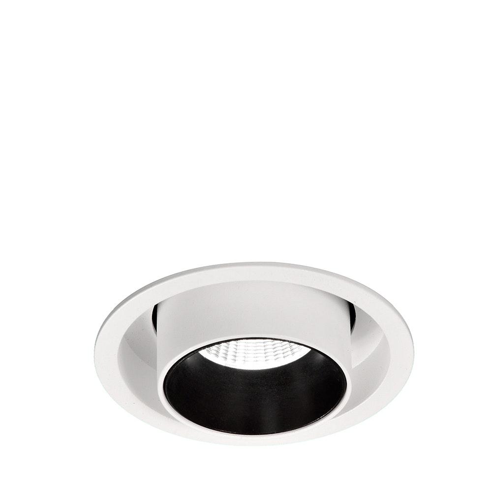 Mantra Garda LED-Einbauleuchte 7 Watt Einziehbar Weiß,Schwarz 5
