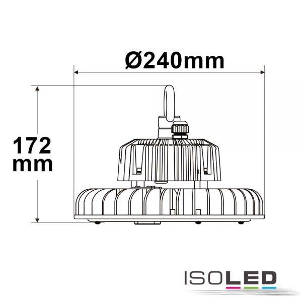 LED Hallenstrahler 120W 18000lm 90° IP65 1-10V dimmbar Neutralweiß 2