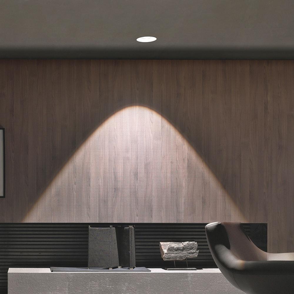 Linealight Gypsum Eye LED-Einbauspot 24,2cm 2