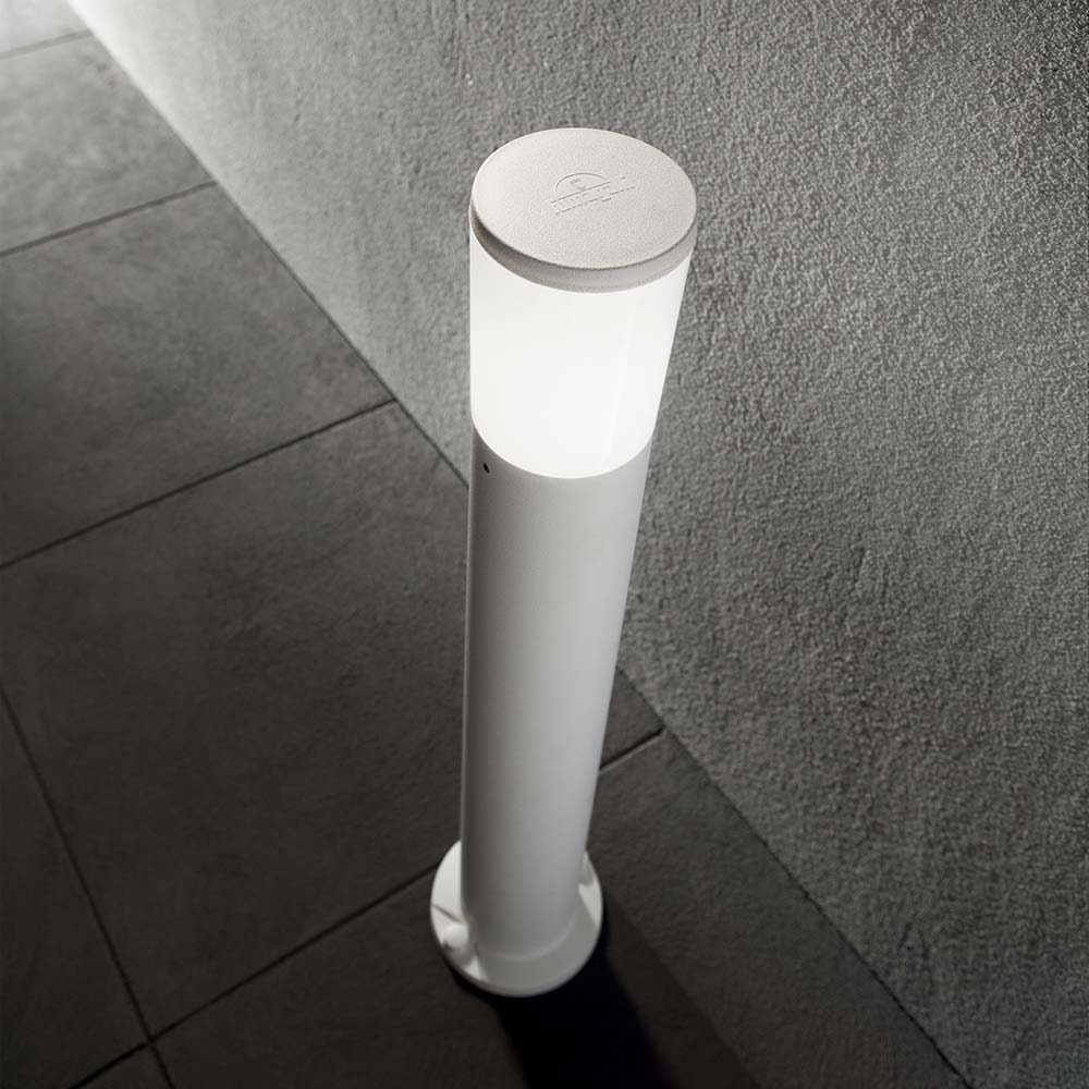 Ideal Lux Stehlampe Amelia IP55 Weiß