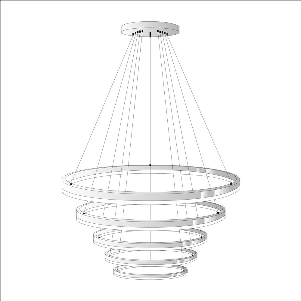 s.LUCE Ring Umbau zentrisch / exzentrisch (ohne LED-Ringe) 18