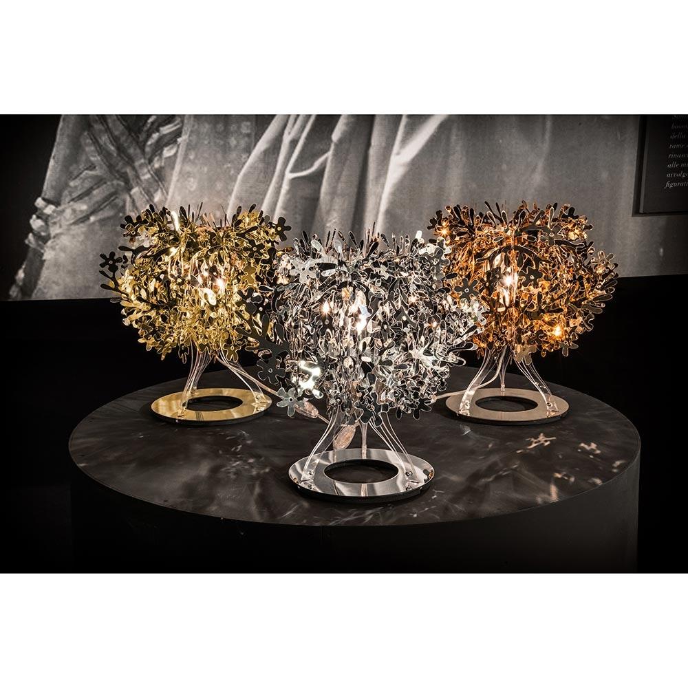 Slamp Tischlampe Fiorella 370lm 2800K Goldfarben 6