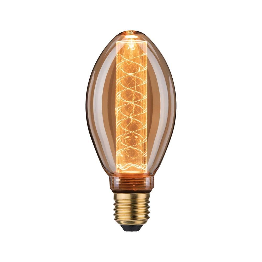 E27 LED B75 Spiralmuster 200lm 1800K Goldfarben 1