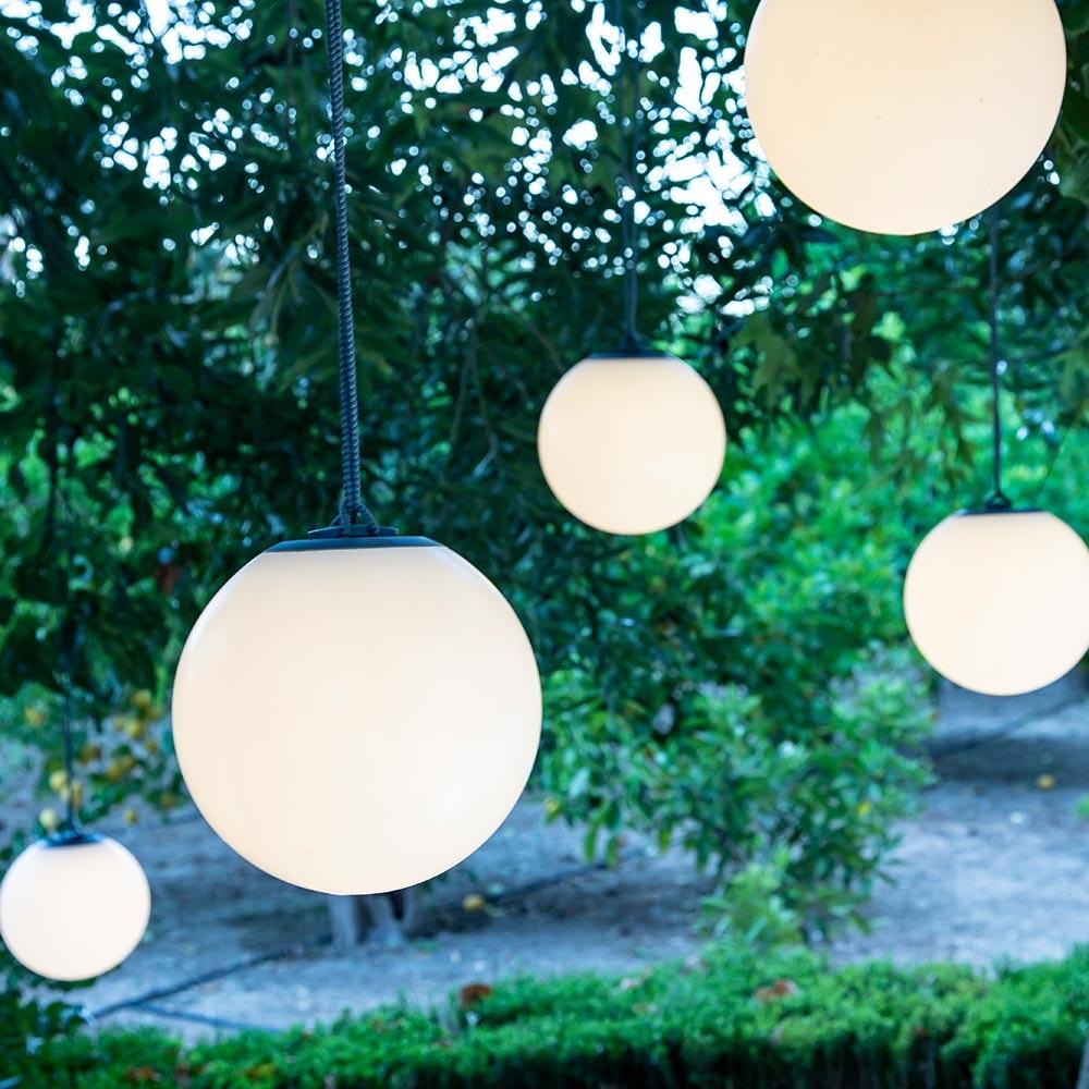 Licht-Trend LED-Hängeleuchte in Kugelform Norai mit Fernbedienung  5