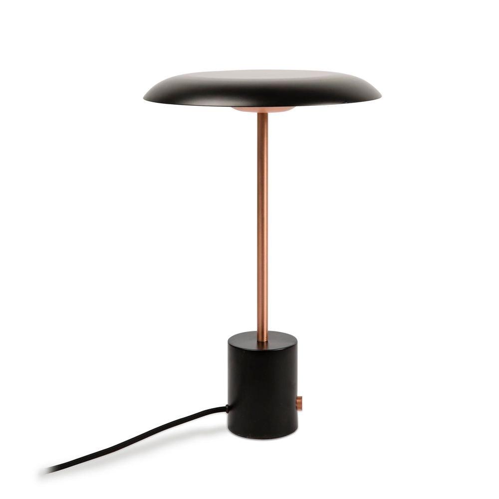 LED Tischlampe HOSHI Schwarz, Kupfer 1
