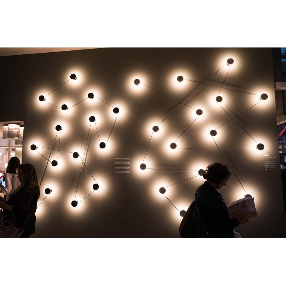 Kundalini LED-Wandleuchte Azou 7-flammig Dimmbar 7