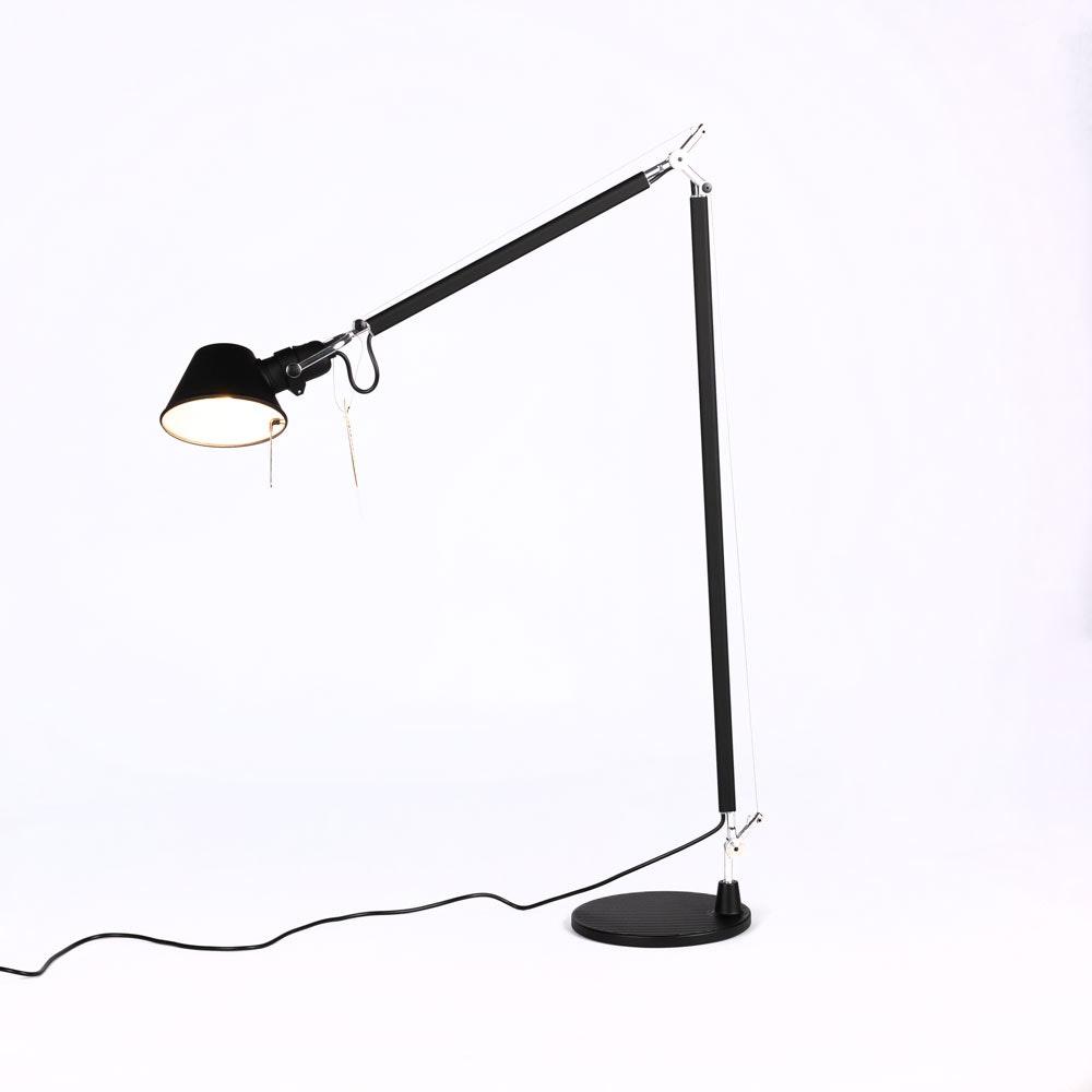 Artemide Tolomeo Lettura Stehlampe mit LED-Leuchtmittel dimmbar 7