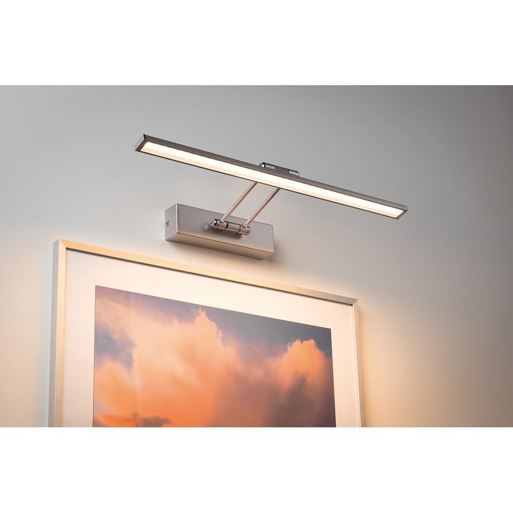 Galeria Bilderleuchte LED Beam Fifty 7W Nickel-Gebürstet 1