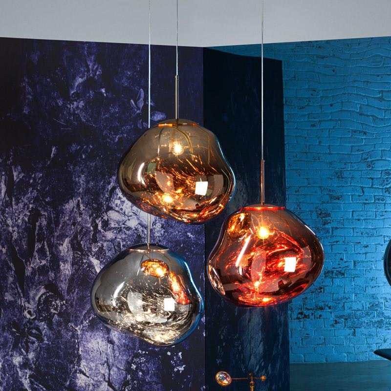 Tom Dixon Melt LED Trio Pendelleuchte 3er Mobile Ø 81cm thumbnail 3