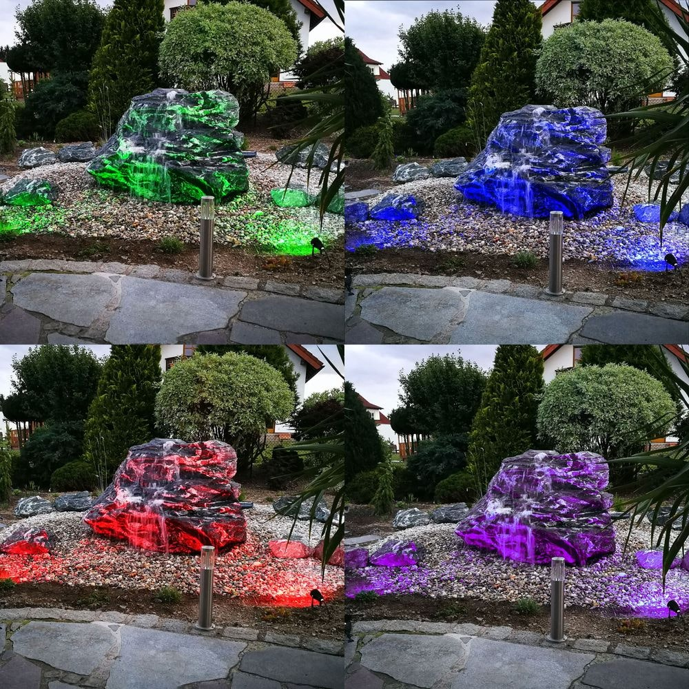 s.LUCE LED-Gartenstrahler iLight 9W RGB + CCT 8