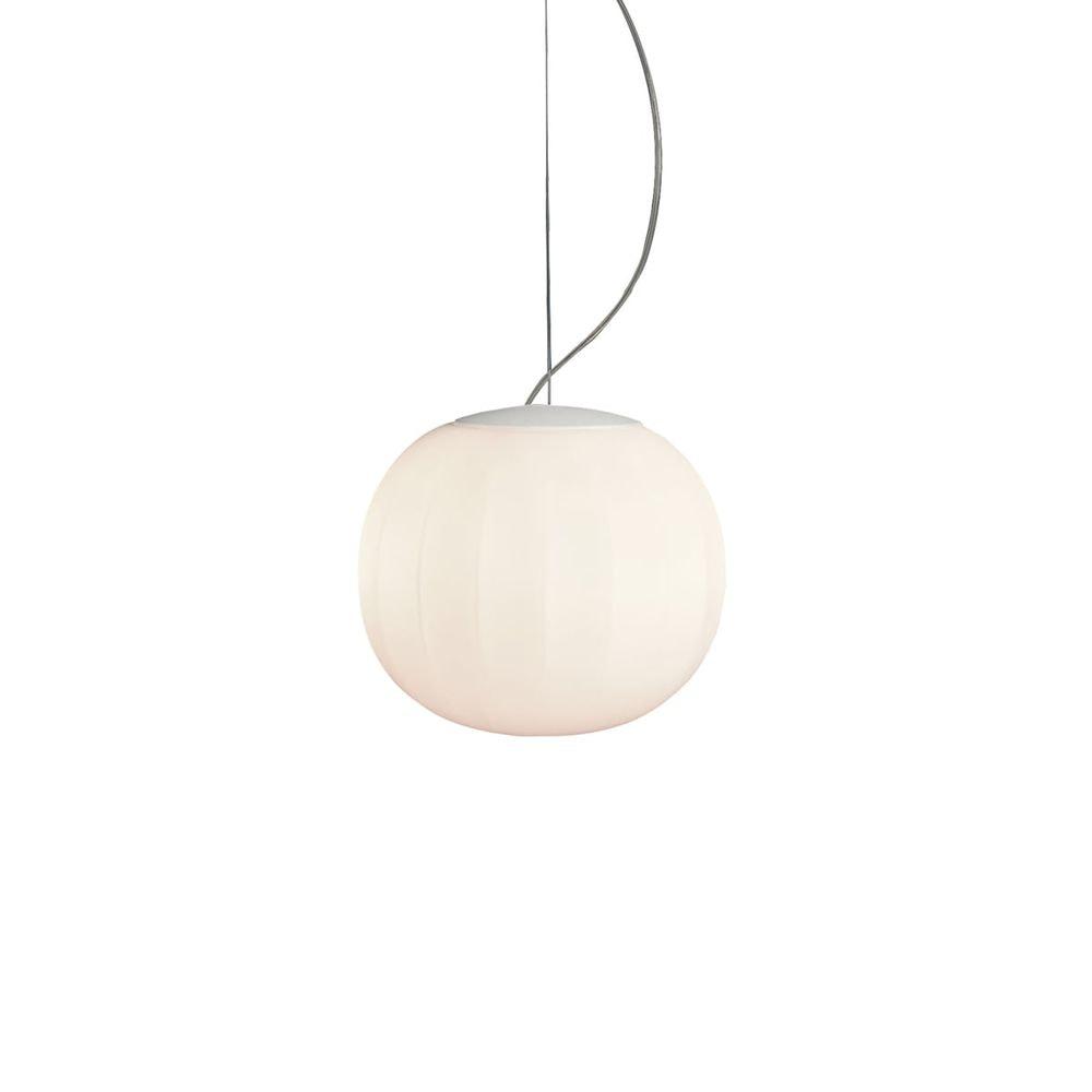 Luceplan LED Hängelampe Lita Ø 14cm Glas 2