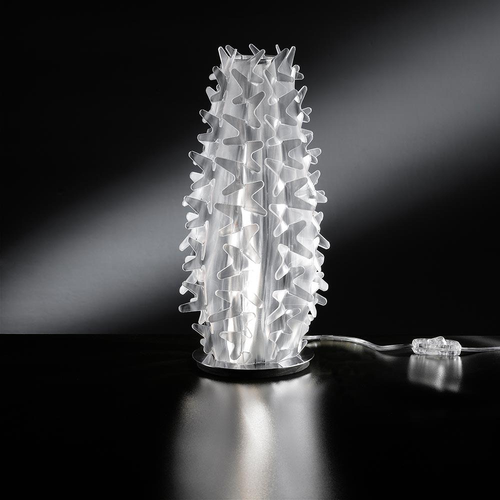 Slamp Tischlampe Cactus XM Transparent