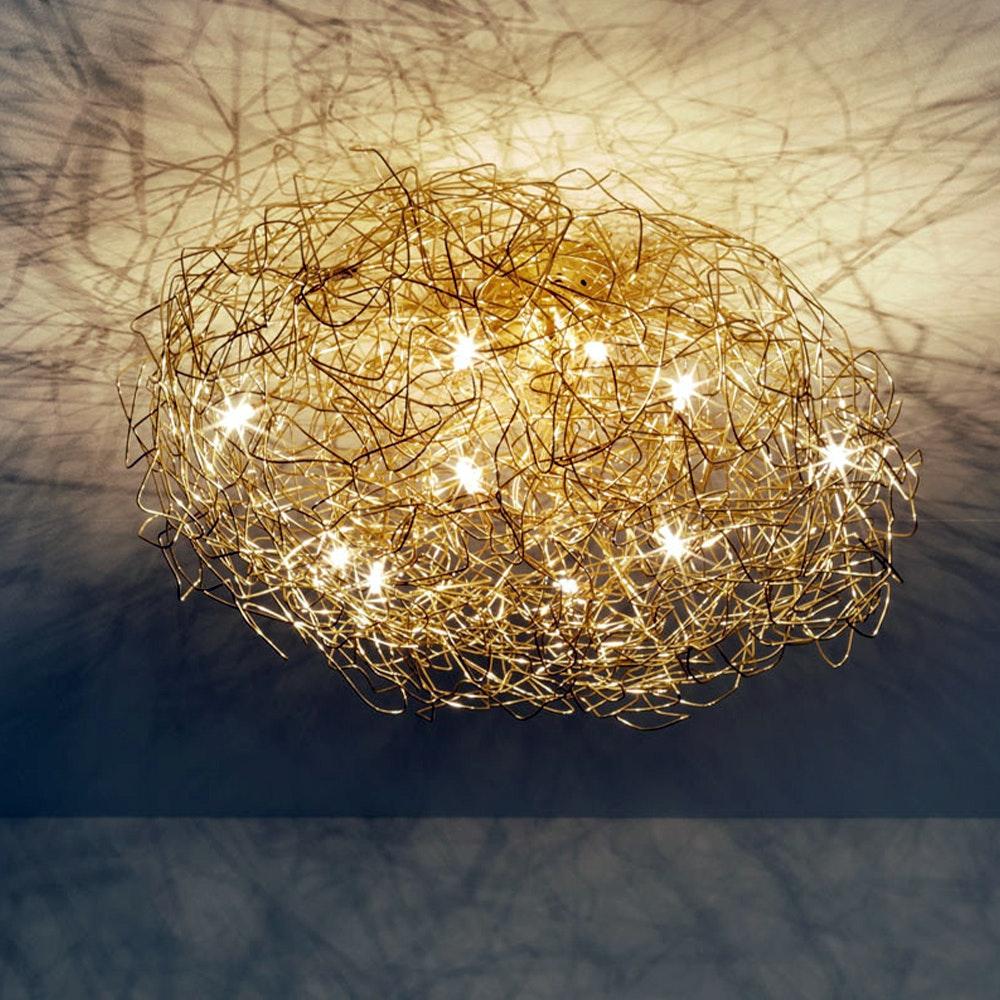 Catellani & Smith Fil de Fer CW Ovale LED Wand- & Deckenlampe Dimmbar