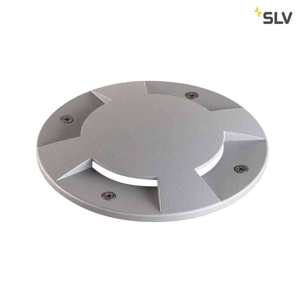 SLV Big Plot Abdeckung 4 Auslässe Silbergrau