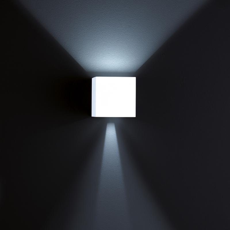 Helestra LED Außen-Wandleuchte Siri 44 - L IP54 Weiß 1