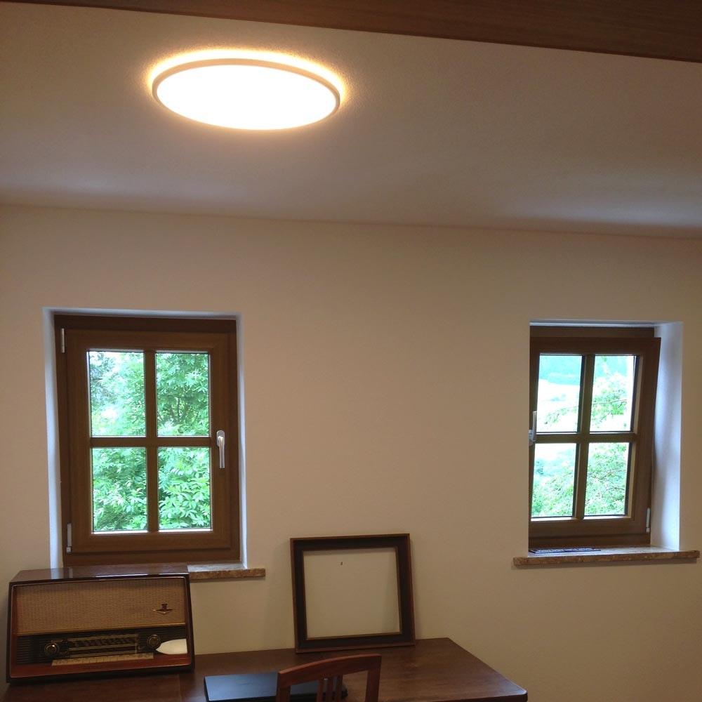 LED Deckenlampe Board 29 Direkt & Indirekt 2700K Dimmbar per Schalter Weiß 9