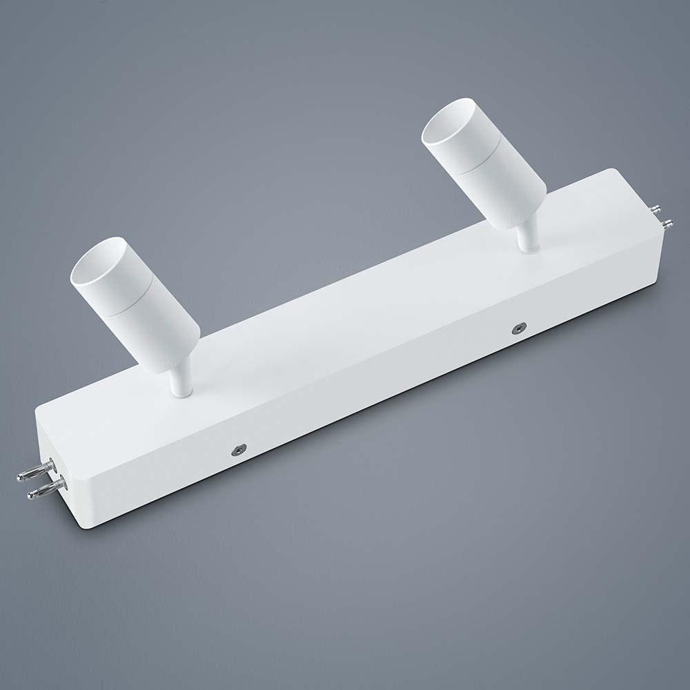 Helestra LED Strahler-Deckengehäuse Mitteleinspeisung Vigo Weiß 1