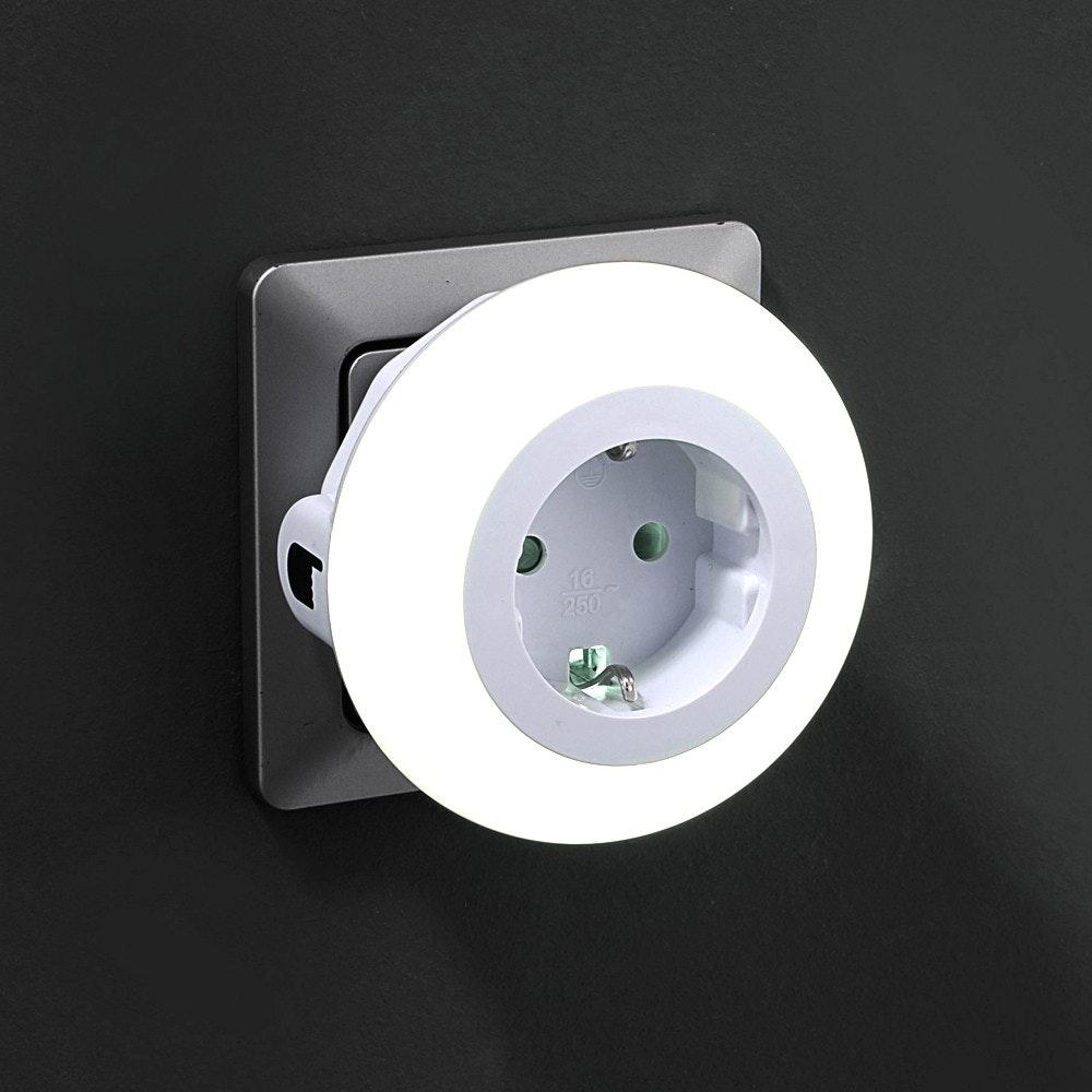 LED-Nachtlicht Steckerleuchte 3x LED 8cm 3