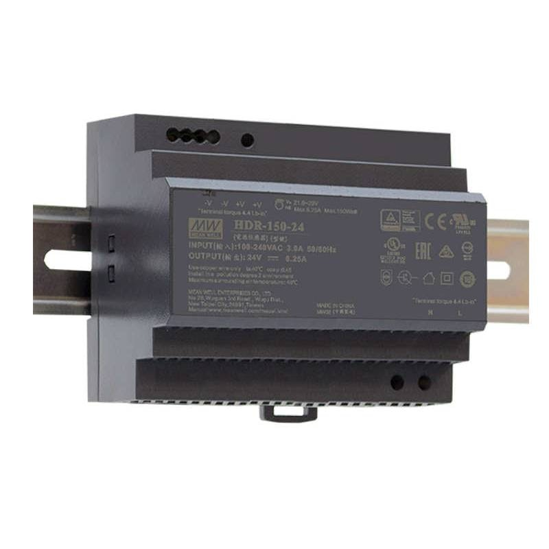 150W Netzteil für Hutschiene 24V IP20