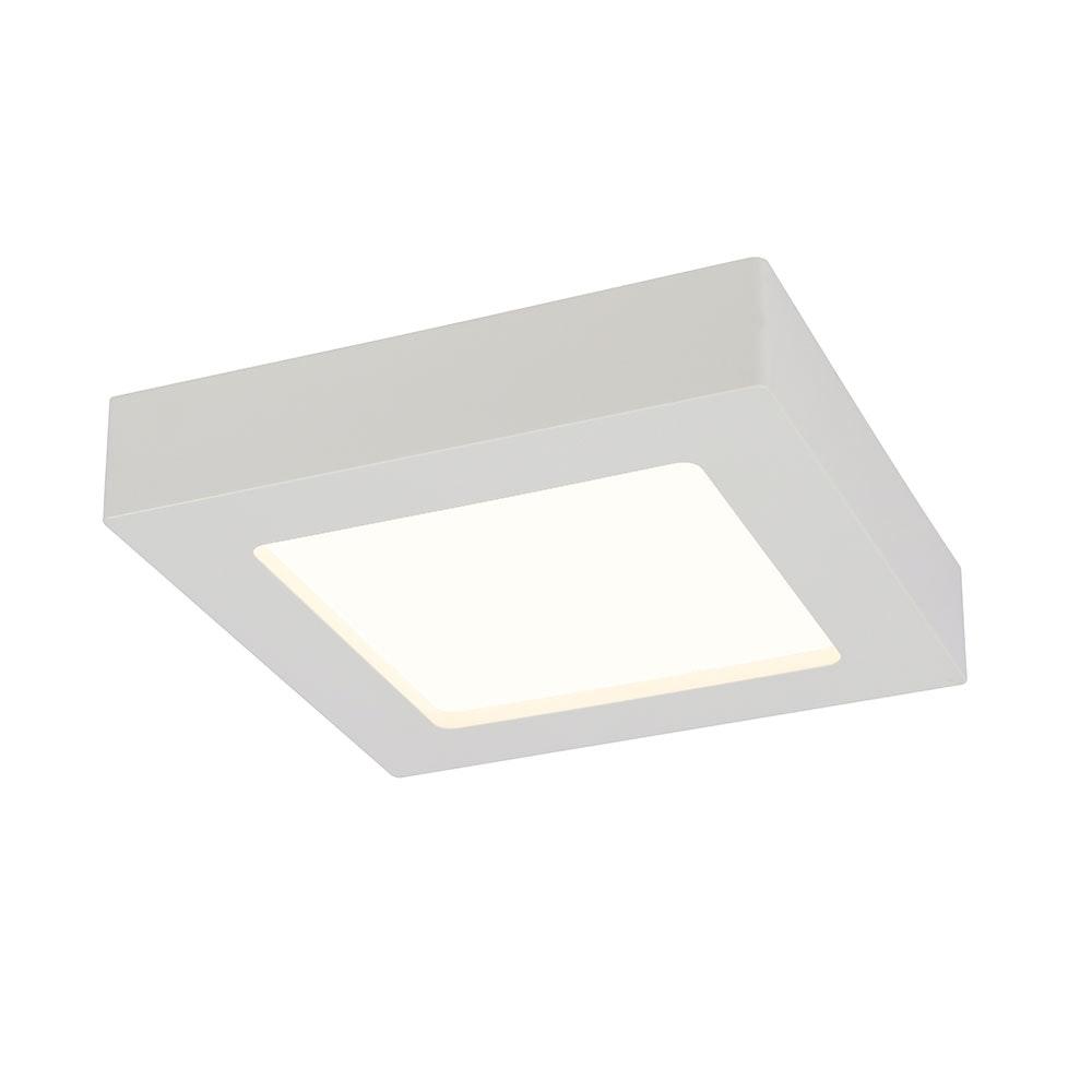 LED Deckenleuchte Svenja Weiß, Opal 2