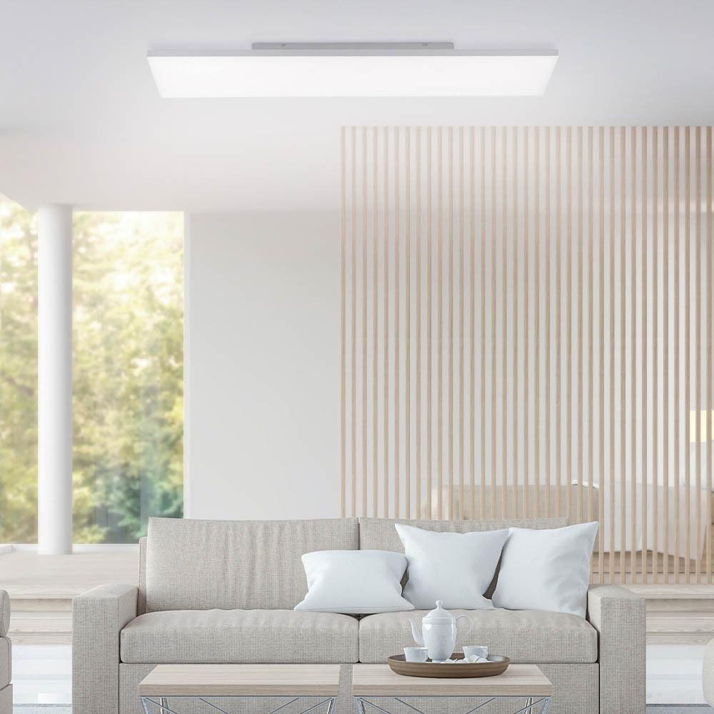 Q-Flat 2.0 rahmenloses LED Deckenleuchte 100 x 25cm CCT + FB Weiß thumbnail 3