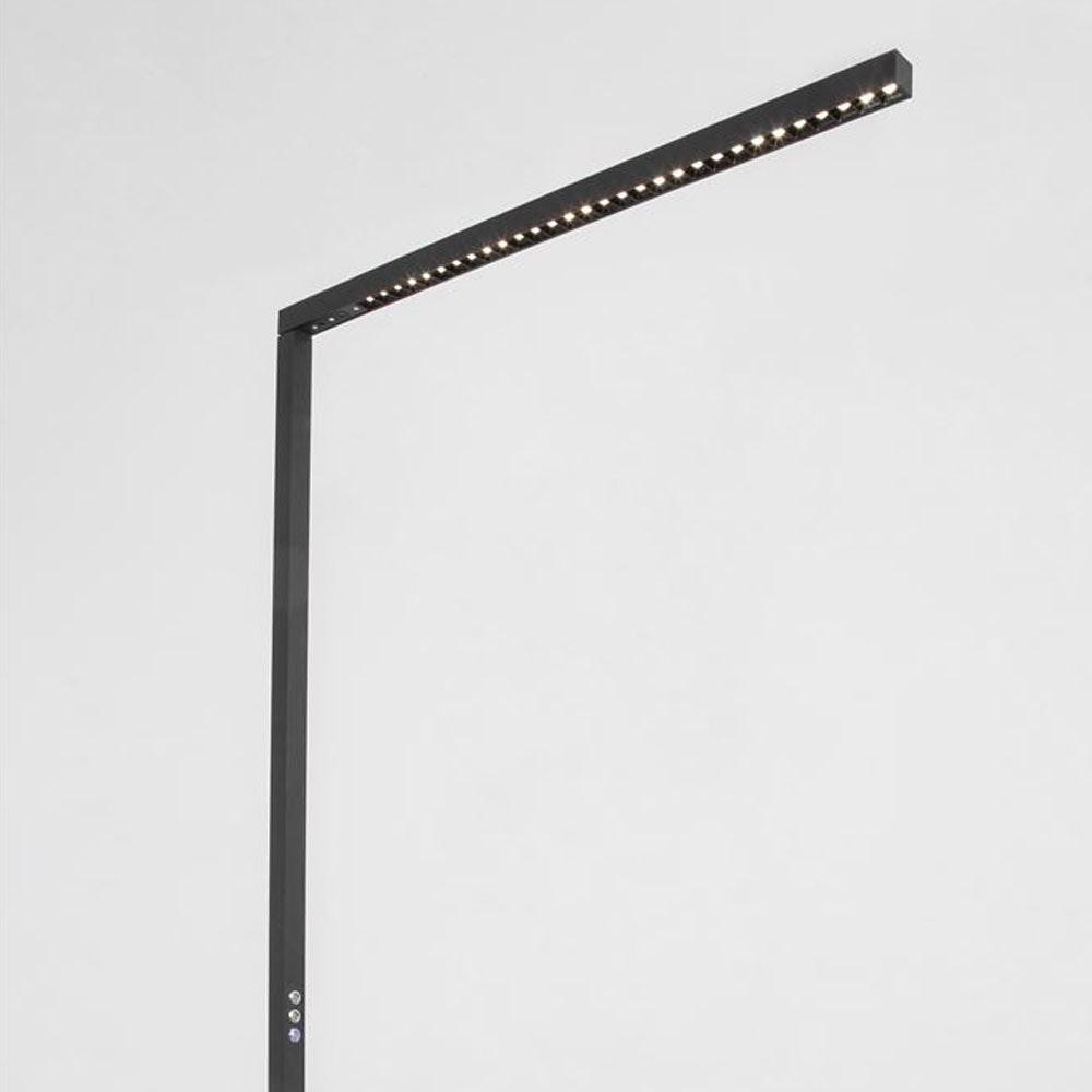 Nova Luce Gal Büro Arbeitsplatzleuchte Stehleuchte LED dimmbar 7