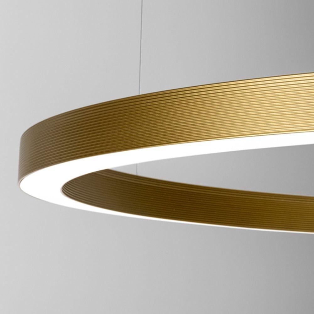 Panzeri Brooklyn Halb-Ring LED-Deckenlampe thumbnail 3