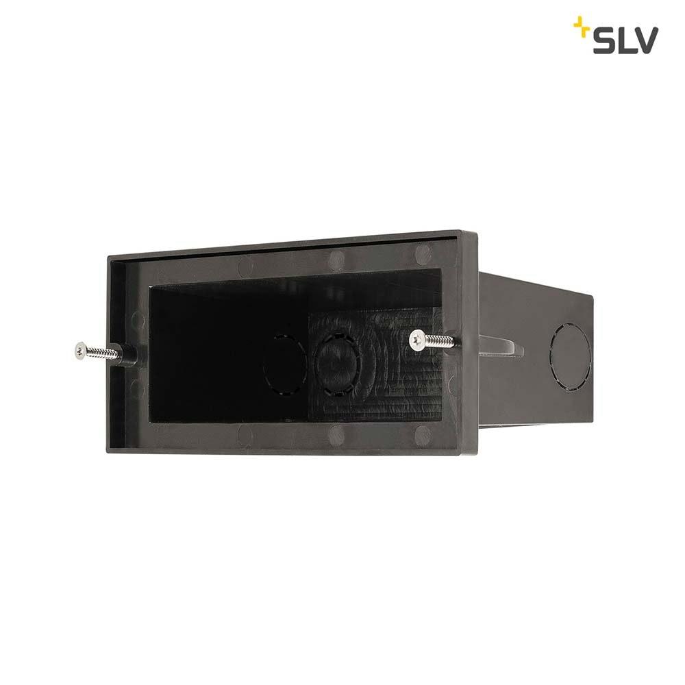 SLV Brick Outdoor Wandeinbauleuchte Pro LED 3000K Edelstahl IP67 850lm 2