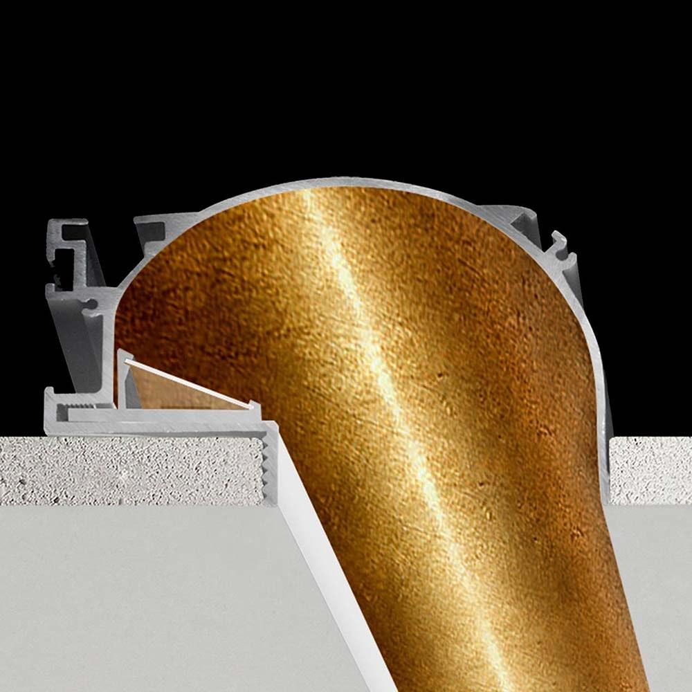 Panzeri Manhattan Einbauprofil für LED-Strips thumbnail 4