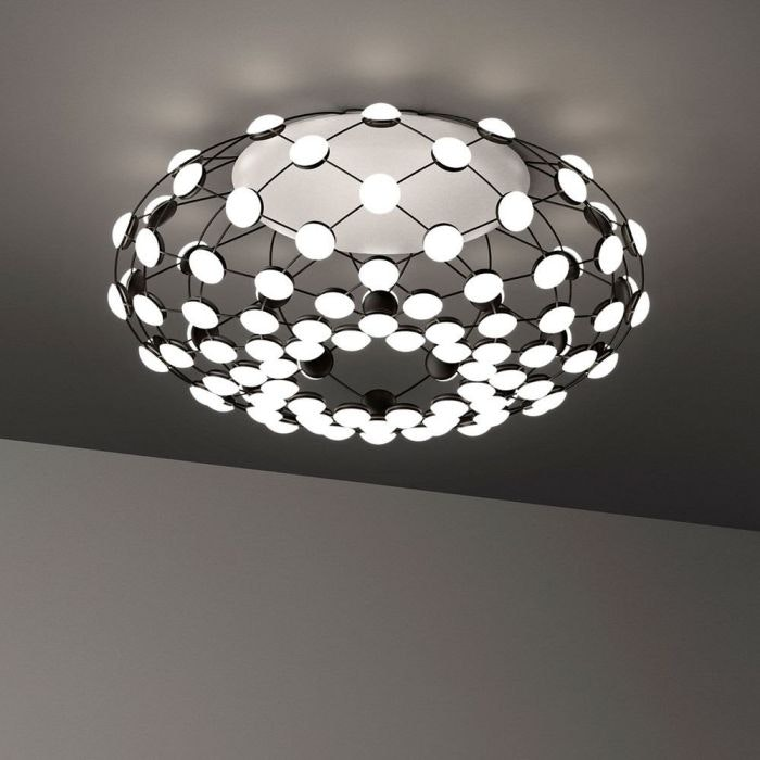 Luceplan LED Deckenlampe Mesh Ø 72cm 1