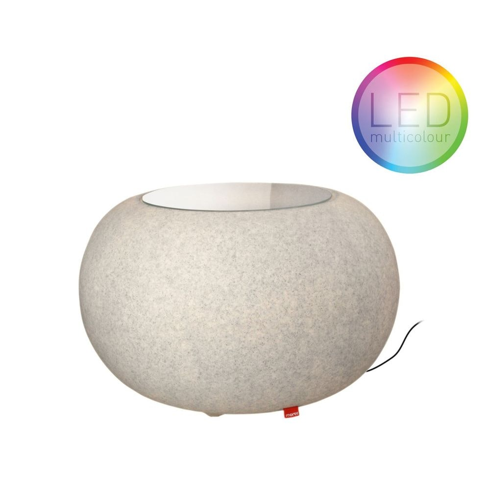 Moree Granit Bubble Outdoor LED Tisch oder Hocker thumbnail 5