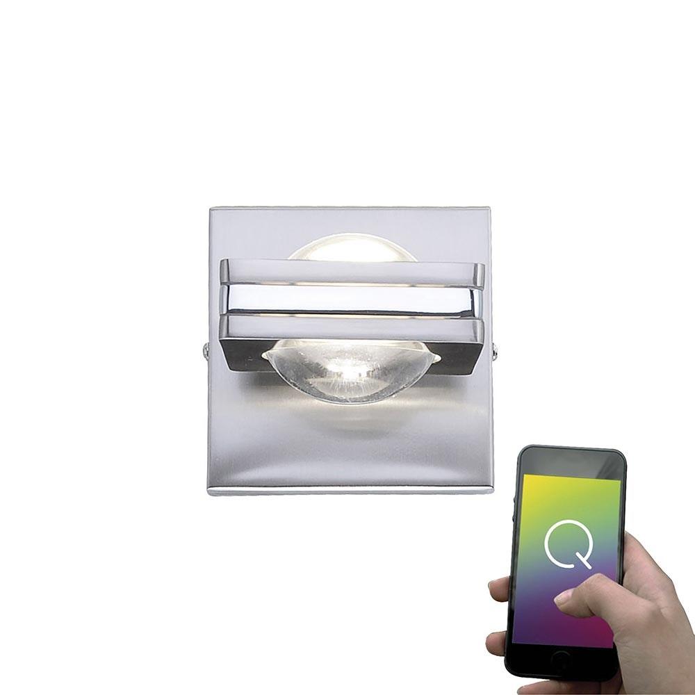 LED Wandlampe Q-Fisheye RGBW mit Smart-Steuerung 2