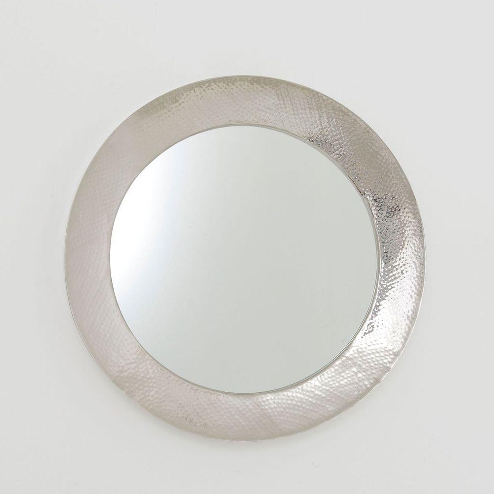 Spiegel Piatto Aluminium-Spiegelglas Silber