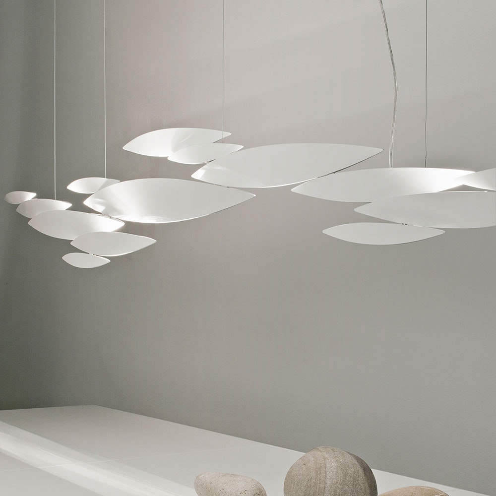 Terzani I Lucci Argentati LED Design-Hängelampe 1
