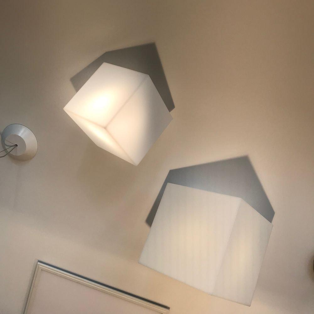 Artemide Edge Wand- oder Deckenlampe Würfel