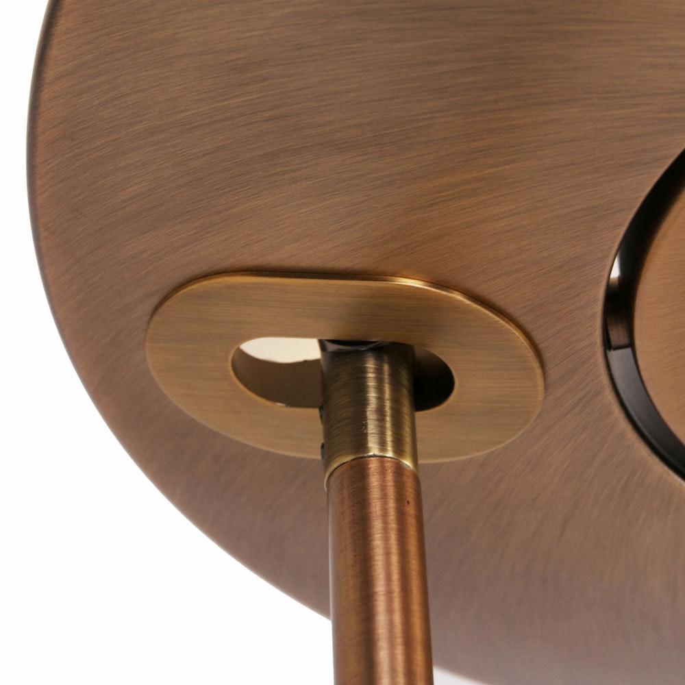 Steinhauer LED-Deckenfluter Zenith mit Lesearm & Tastdimmer CCT thumbnail 4