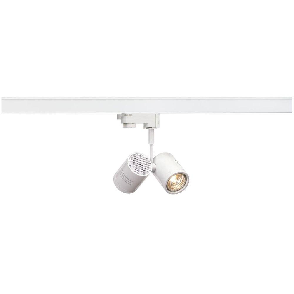 SLV BIMA II Leuchtenkopf Weiß 2xGU10 max. 50W inkl. 3P.-Adapter 1