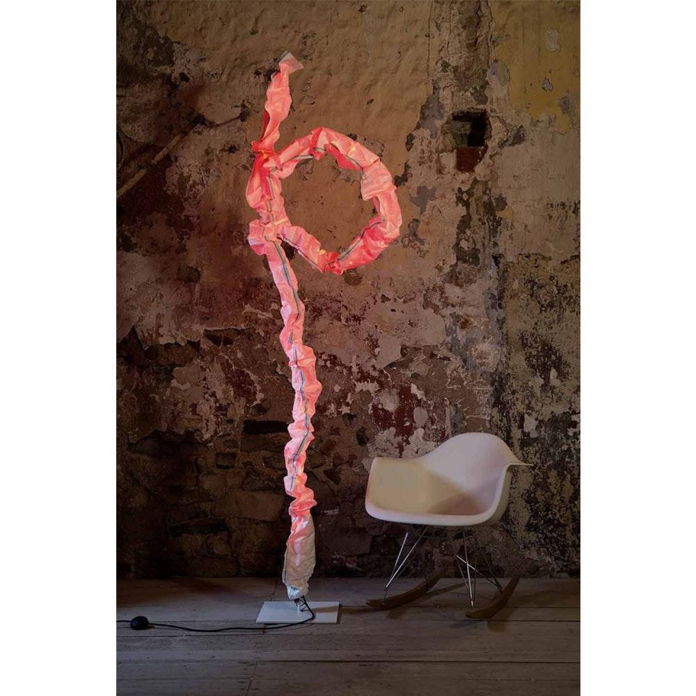 LichtRaumFunktion LED Stehlampe JoshuaIndoor 2750lm Weiß, Orange