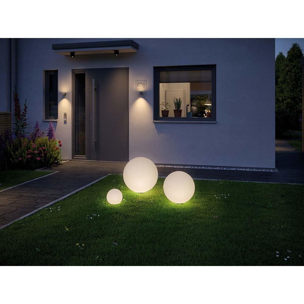 LED Plug & Shine Lichtobjekt Globe Ø 50cm IP67 24V 3000K 575lm 2