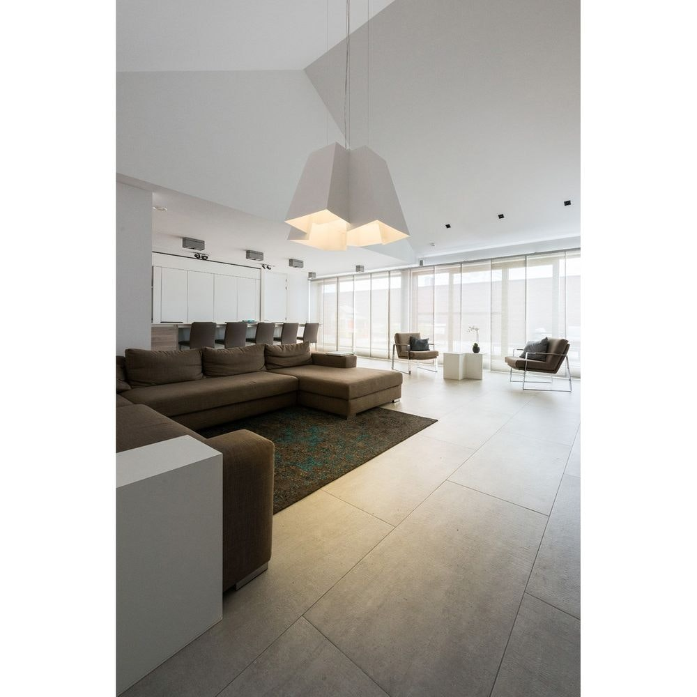 SLV Soberbia LED Pendelleuchte eckig Weiß 2700K 4
