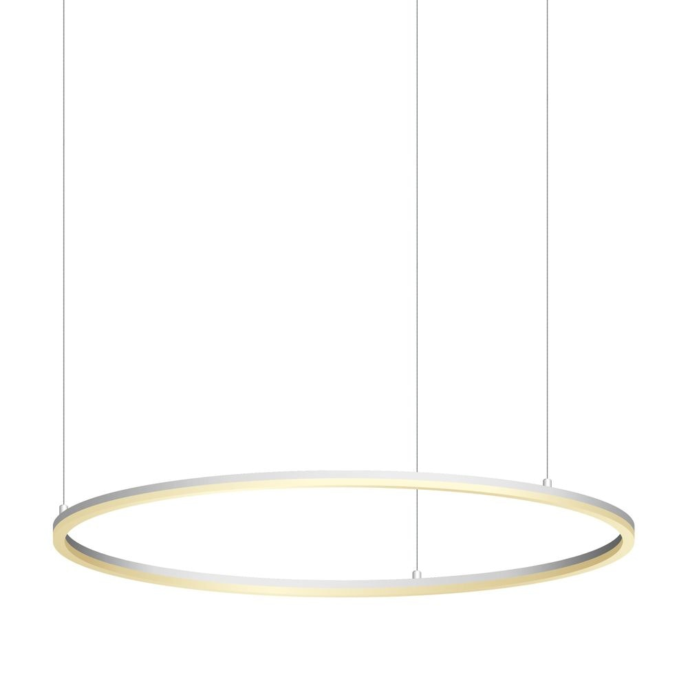 s.LUCE Ring 100 LED Hängelampe 5m Abhängung 13
