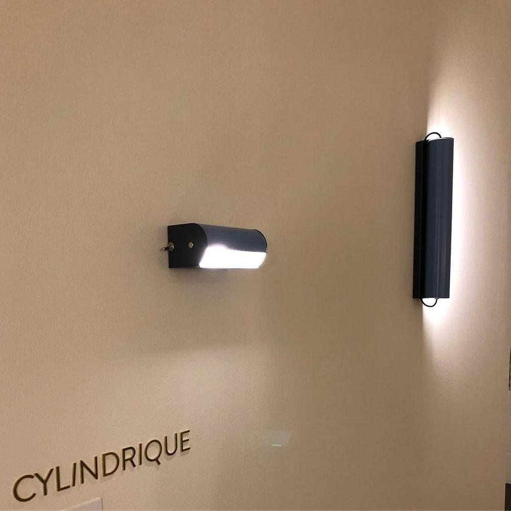 Nemo Applique Cylindrique Lounge Wandlampe 48cm 2