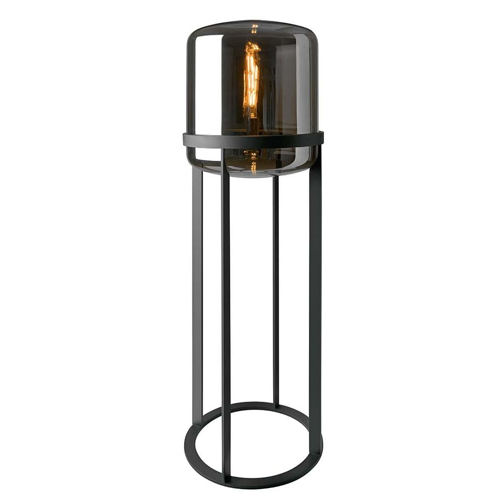 Villeroy & Boch Stehlampe Melbourne 150cm Schwarz, Rauchfarben 2