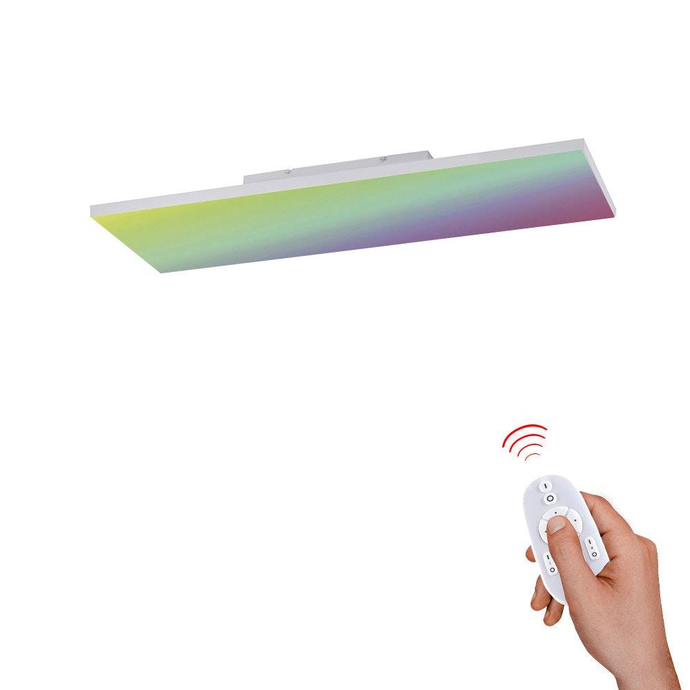 Q-Flat 2.0 rahmenlose LED Deckenlampe 60 x 30cm RGBW + FB Weiß 1