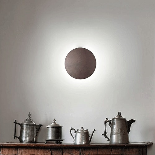 Studio Italia Design Puzzle Round Single LED Wand- & Deckenlampe 2