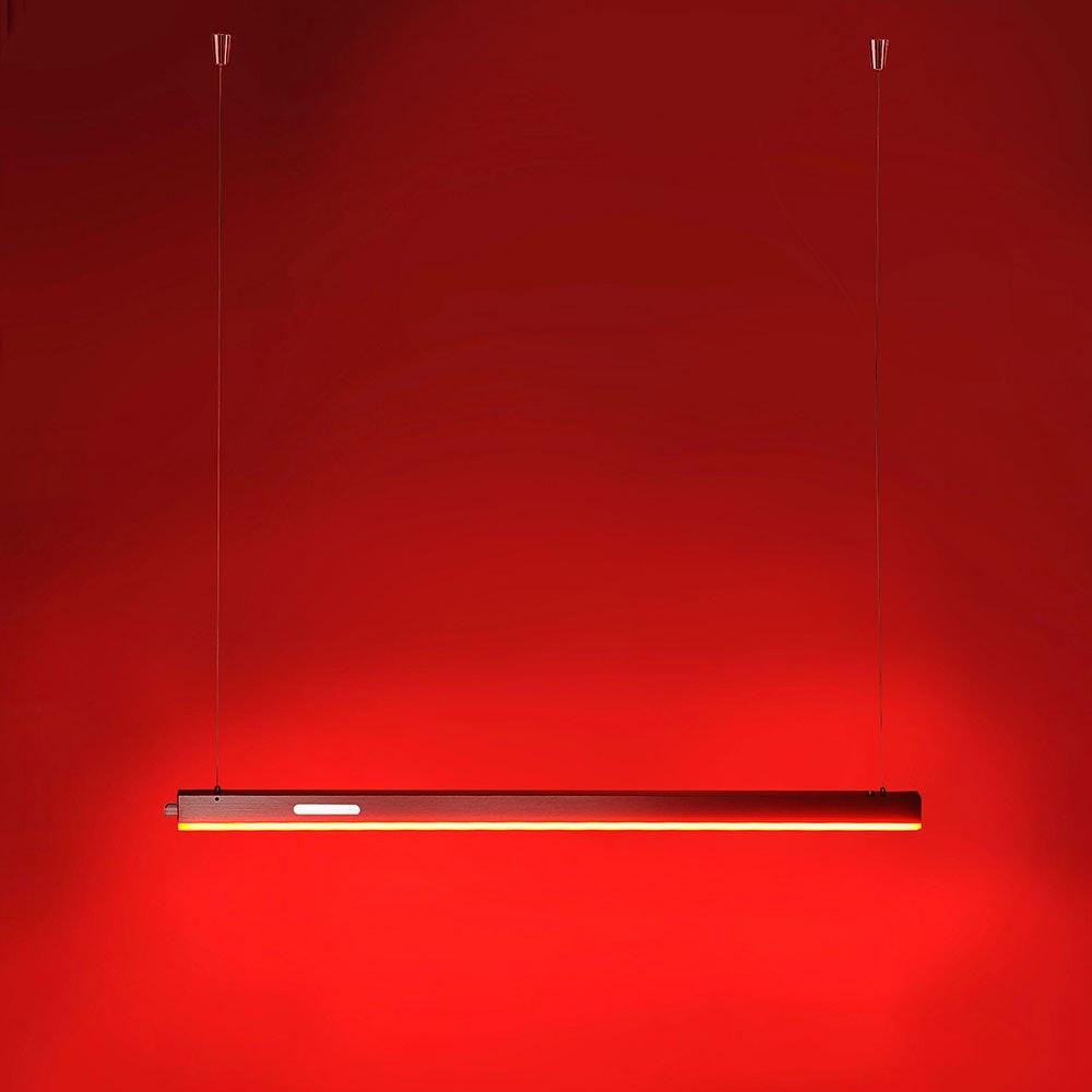 Q-LED Snake LED Pendelleuchte (B) 15W RGBW 2