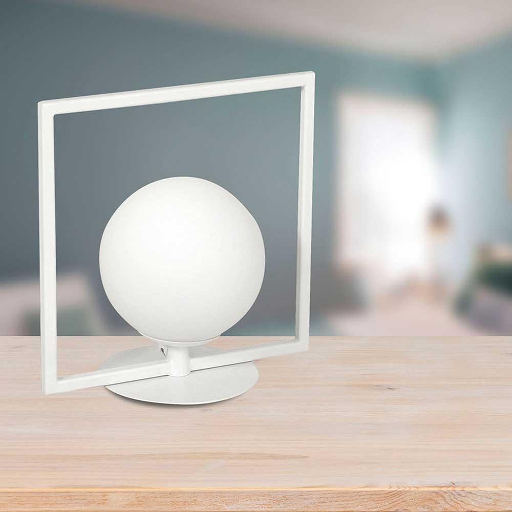 Fabas Luce Sirio LED Tischleuchte Eckig 2