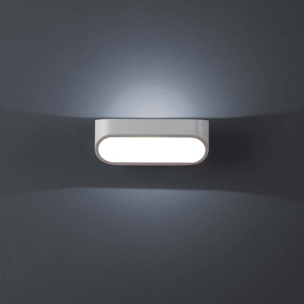 Helestra LED Wandleuchte Onno Weiß 1