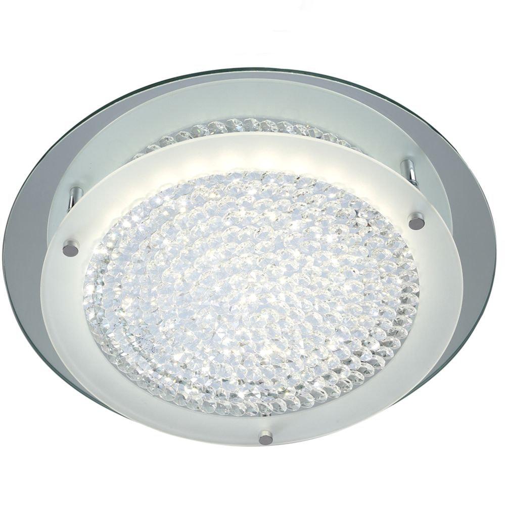 Mantra Crystal LED Mirror runde Deckenlampe 1